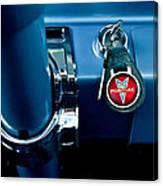 1961 Pontiac Catalina Key Ring Canvas Print