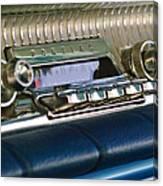 1961 Pontiac Catalina Radio Canvas Print