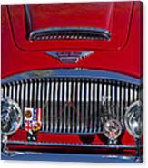 1962 Austin-healey 3000 Mkii Grille Canvas Print