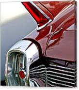 1962 Cadillac Eldorado Taillight Canvas Print