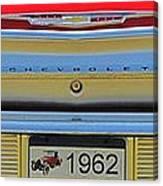 1962 Chevy Impala Ss Canvas Print