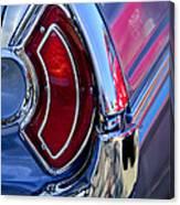 1962 Pontiac Catalina Convertible Taillight Canvas Print