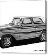 1962 Rambler American Canvas Print