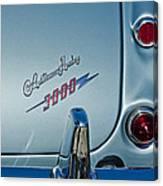 1963 Austin-healey Taillight Canvas Print