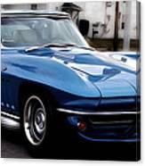 1963 Corvette Canvas Print