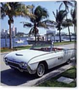 1963 Ford Thunderbird Canvas Print