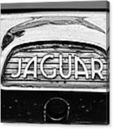 1963 Jaguar Back Up Light Canvas Print