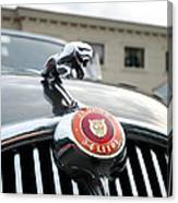1963 Jaguar Emblem Canvas Print