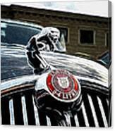 1963 Jaguar Mkii Fantasy Car Canvas Print