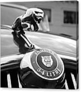 1963 Jaguar Mkii  Canvas Print