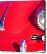 1963 Red Porsche Canvas Print