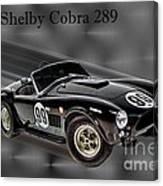 1963 Shelby Cobra 289 Canvas Print