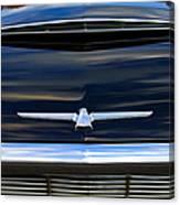 1964 Ford Thunderbird Hood Emblem Canvas Print
