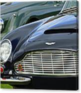 1965 Aston Martin Db6 Short Chassis Volante Canvas Print