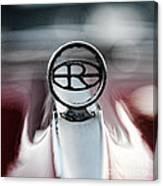 1965 Buick Riveria Hood Emblem Canvas Print