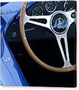 1965 Cobra Sc Steering Wheel 2 Canvas Print