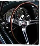 1965 Corvette Roadster Dash Canvas Print