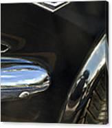 1965 Ford Mustang Emblem 3 Canvas Print