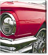 1965 Ford Thunderbird Front End Canvas Print