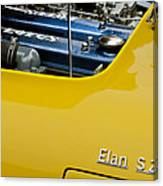 1965 Lotus Elan S2 Engine Canvas Print