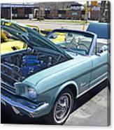 1965 Mustang Convertible Canvas Print