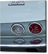1966 Chevrolet Corvette Tail Light 2 Canvas Print