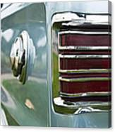 1966 Plymouth Satellite Tail Light Canvas Print