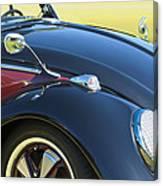 1966 Volkswagen Vw Convertible Bug Canvas Print
