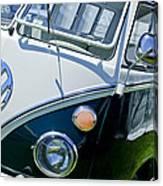 1966 Volkswagen Vw Microbus Canvas Print
