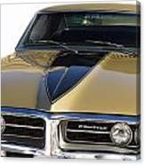 1967 Bronze Pontiac Firebird  Canvas Print