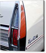 1967 Cadillac Coupe Deville Taillight Canvas Print