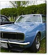 1967 Camaro Canvas Print