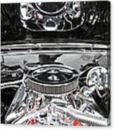 1967 Chevrolet Chevelle Ss Engine 2 Canvas Print