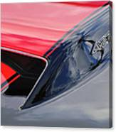1967 Chevrolet Corvette 427 Hood Emblem 5 Canvas Print
