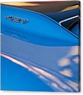 1967 Chevrolet Corvette 427 Hood Emblem Canvas Print