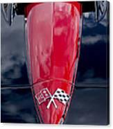 1967 Chevrolet Corvette Hood Emblem 5 Canvas Print