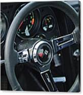 1967 Chevrolet Corvette Steering Wheel Canvas Print