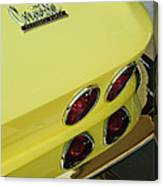 1967 Chevrolet Corvette Taillight Canvas Print