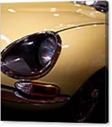 1967 Jaguar E-type Series Canvas Print