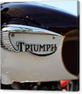 1967 Triumph Bonneville Gas Tank 1 Canvas Print