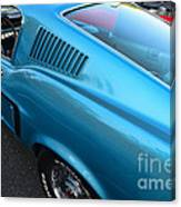 1968 Ford Mustang Fastback  Profile Canvas Print