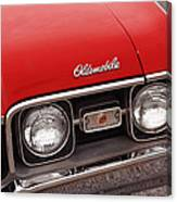 1968 Oldsmobile Cutlass Supreme Canvas Print