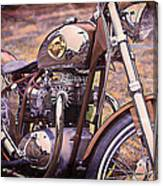 1969 Bsa Js Canvas Print