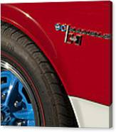 1969 Sc Rambler Wheel Emblem Canvas Print