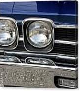 1970 Chevrolet Chevelle Antique Show Car Canvas Print
