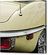 1970 Jaguar Xk Type-e Taillight 2 Canvas Print