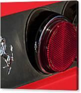 1972 Ferrari 365 Gtc-4 Emblem Canvas Print