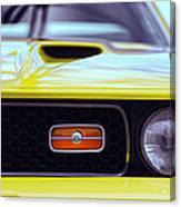 1972 Ford Mustang Mach 1 Canvas Print