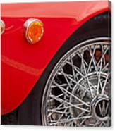 1972 Maserati Ghibli 4.9 Ss Spyder Wheel Canvas Print