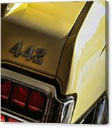 1972 Oldsmobile 442 Canvas Print